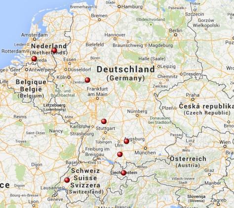 Europees Superchargernetwerk